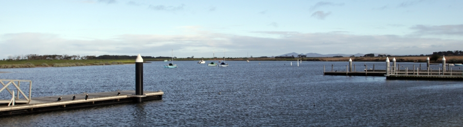 Mouth of the Werribee River