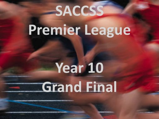 SACCSS Year 10 Premier League Grand Final results