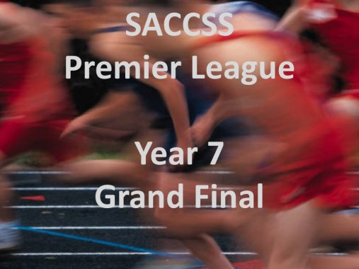 SACCSS Year 7 Premier League Grand Final results