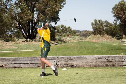 MacKillop Masters Golf results
