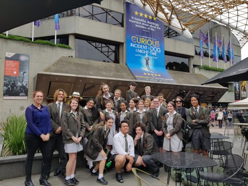 Year 11 & 12 Theatre Studies students get curious!