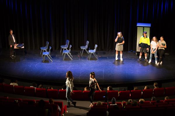 2018 Yr9 Theatre Studies Sem1 – Mini Musicals