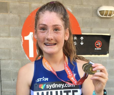 Gold medals won at Australian Athletics Championships
