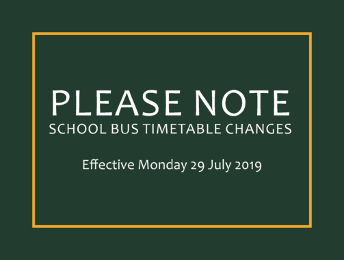 Changes to PTV Timetables