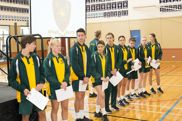 2018 Investiture – House Captains