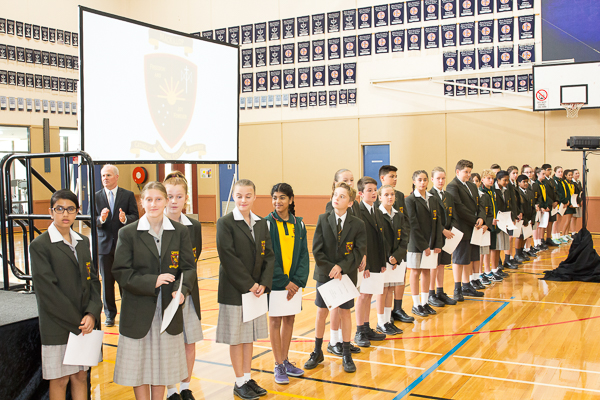 2018 Investiture – Year 8 Class Captains