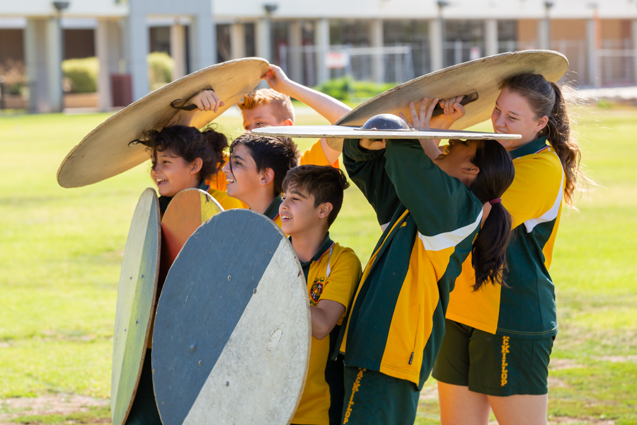 2019 Yr8 Humanities – Medieval Incursion