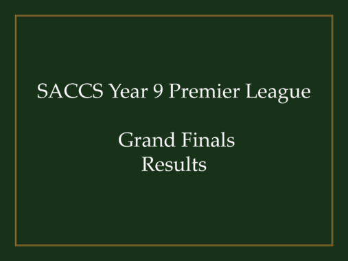 SACCSS Year 9 Premier League Grand Finals Results