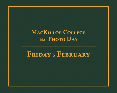 MacKillop College 2021 Photo day- Sibling Photo Registration
